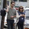 Natalie Portman et Benjamin Millepied à Los Angeles le 14 janvier 2012