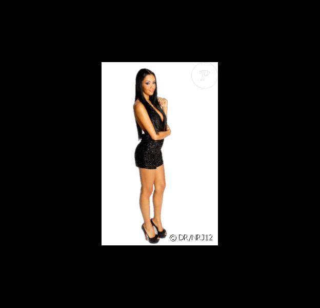 Nabilla (Nabilla Benattia) dans Hollywood Girls 2 sur NRJ 12