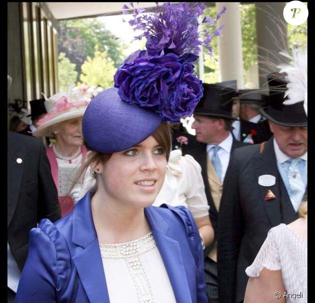 La princesse Eugénie au royal Ascot 2008