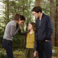 Kristen Stewart, Robert Pattinson et Taylor Lautner dans  Twilight - Chapitre 5 : Révélation 2e partie , en salles le 14 novembre.