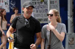 Antonio Banderas : Complice et souriant avec sa fille Stella à SoHo