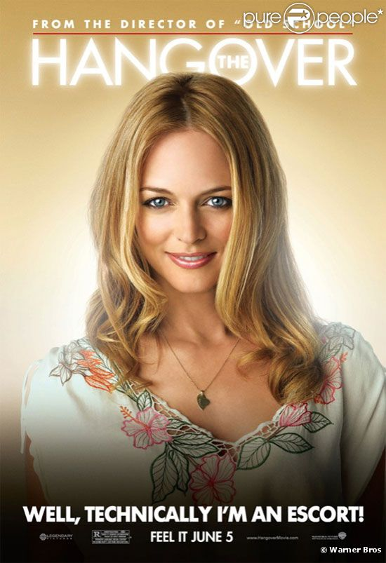 Heather Graham dans  Very Bad Trip  (2009).