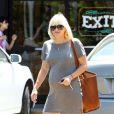 Très enceinte, Anna Faris à Los Angeles le 9 août 2012