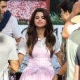 Selena Gomez sur le tournage du film  Parental Guidance Suggested , le vendredi 10 août 2012, à Sherman Oaks, en Californie.