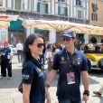 Le prince Carl Philip de Suède et Sofia Hellqvist en mai 2011 à Brescia, en Italie. Le prince a été victime dans la nuit du 11 au 12 août 2012 d'une agression à la sortie du Baoli, une boîte de nuit de Cannes, sous les yeux de sa compagne Sofia Hellqvist et d'un groupe d'amis.