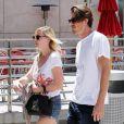 Kirsten Dunst et Garrett Hedlund à Los Angeles, le 11 août 2012.