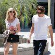 La belle Kirsten Dunst et Garrett Hedlund à Los Angeles, le 11 août 2012.