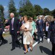 La famille princière de Liechtenstein célébrait le 15 août 2012 autour du prince Hans Adam II et du prince héritier Aloïs la Fête nationale de la principauté.