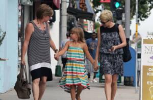 Michelle Williams : Sa fille Matilda couvée par sa maman et sa grand-mère