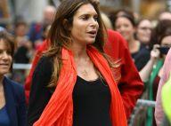 Robbie Williams : Ayda Field, enceinte de 8 mois, surveille ses ébats avec Kaya