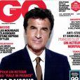 François Cluzet en couverture de GQ magazine de septembre 2012