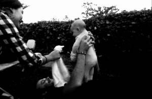 Lily Aldridge et Caleb Followill : Première photo de famille avec Dixie, 2 mois