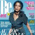 Leïla Bekhti, en couverture du magazine Be du 17 août 2012