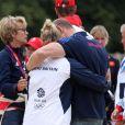Mike Tindall a été le supporter numéro un de sa femme Zara Phillips lors des Jo de Londres 2012, où elle a décroché à Greenwich Park sur High Kingdom la médaille d'argent du concours complet par équipes.
