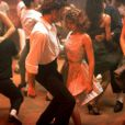 Jennifer Grey et Patrick Swayze, couple star de  Dirty Dancing  (1987).