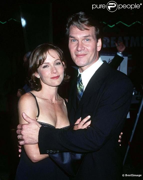 Patrick Swayze couple