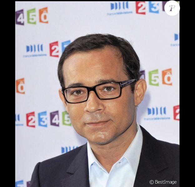 Jean-Luc Delarue en septembre 2010 pour la rentrée de France Télévisions