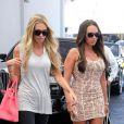 Petra Ecclestone et sa soeur Tamara à West Hollywood à Los Angeles le 21 août 2012