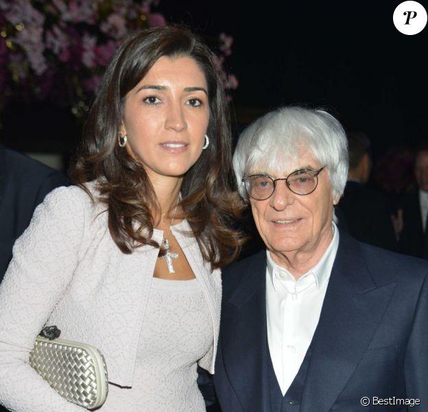 Fabiana Flosi et Bernie Ecclestone le 4 juillet 2012 à Londres