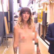 Le Grand Journal : Daphné Bürki se dévoile toute nue pour sa première !