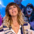 Daphné Bürki dans le Grand Journal, neuvième saison, le lundi 27 août 2012 sur Canal +