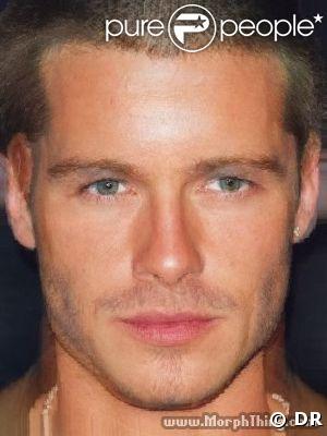 Morphing entre Brad Pitt et David Beckham