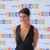 Alessandra Sublet : Souriante et décolletée pour la rentrée de France Télé