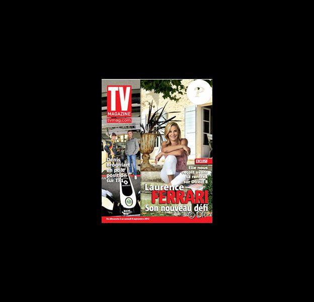 Laurence Ferrari dans le prochain numéro de TV Magazine.