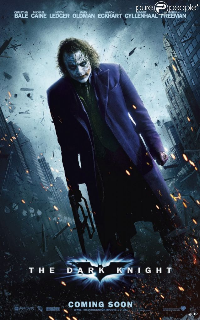 Affiche du film The Dark Night