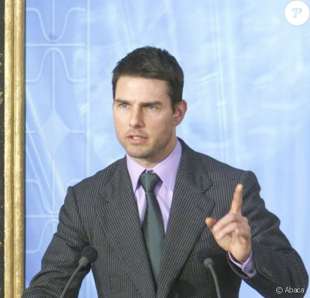 Tom Cruise au sein de la scientologie en 2004