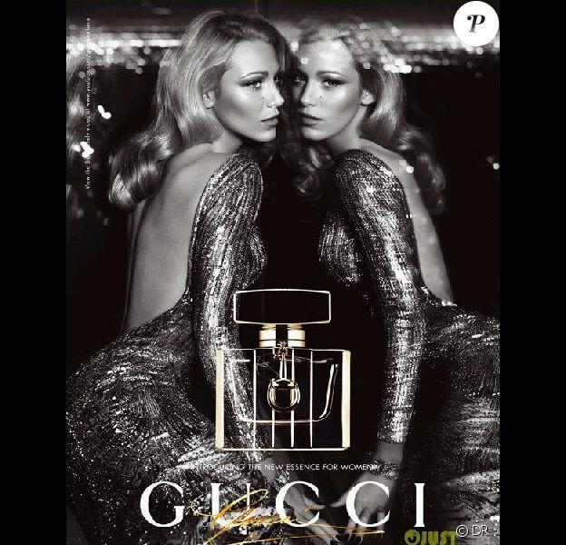 Blake Lively pour le parfum Gucci Premiere, septembre 2012.