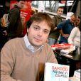 Romain Sardou au Salon du livre de Paris, mars 2007.