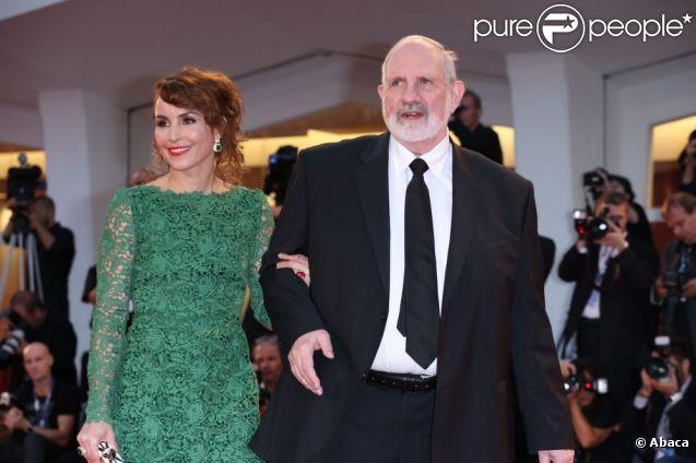Noomi Rapace et Brian de Palma lors de la Mostra de Venise le 7 septembre 2012 pour la présentation du film Passion