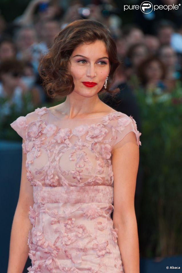 Laetitia Casta lors de la cérémonie de clôture de la 69e Mostra de Venise le 8 septembre 2012