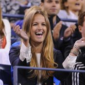 US Open : Kim Sears, supportrice amoureuse pour la victoire d'Andy Murray