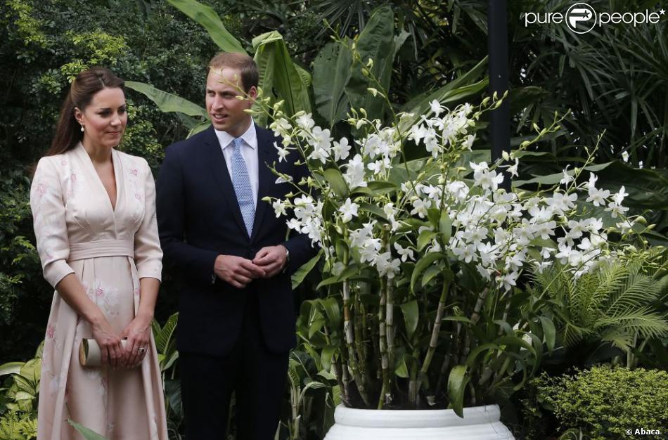 Le prince William et son épouse la princesse Catherine découvre l ...