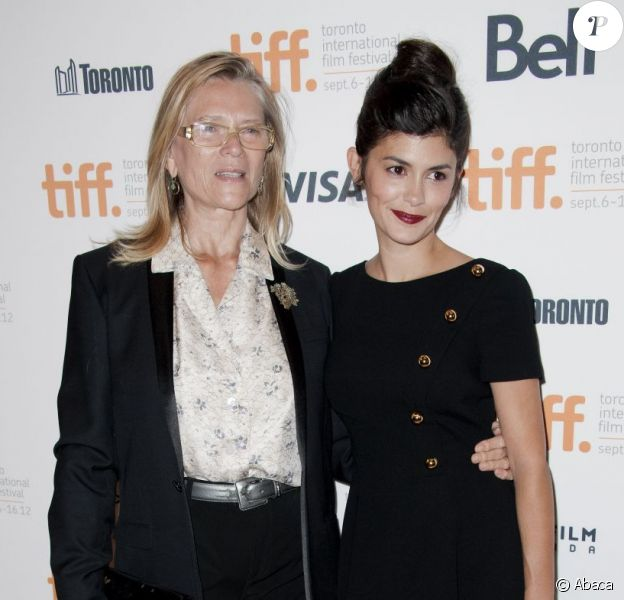 Audrey Tautou et Annie Miller à la première de Thérèse Desqueyroux au Festival International du Film de Toronto (TIFF) le 11 septembre 2012.