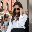 Victoria Beckham quitte la boutique Isabel Marant à New York. Le 11 septembre 2012.