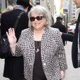 Kathy Bates à New York en mars 2012