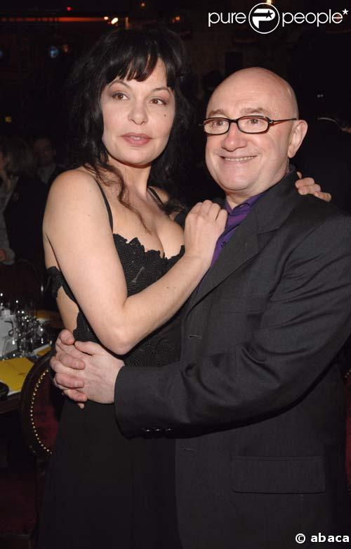 Isabelle Mergault et Michel Blanc