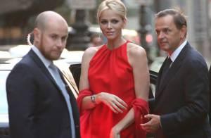 Princesse Charlene de Monaco : Fatale en rouge à Paris pour Van Cleef & Arpels