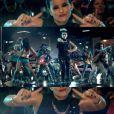 Image extraite du clip  Parking Lot  de Nelly Furtado, septembre 2012.
