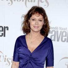 Susan Sarandon assiste à la soirée The Visionaries du magazine Condé Nast Traveler au Alice Tully Hall. New York, le 18 septembre 2012.