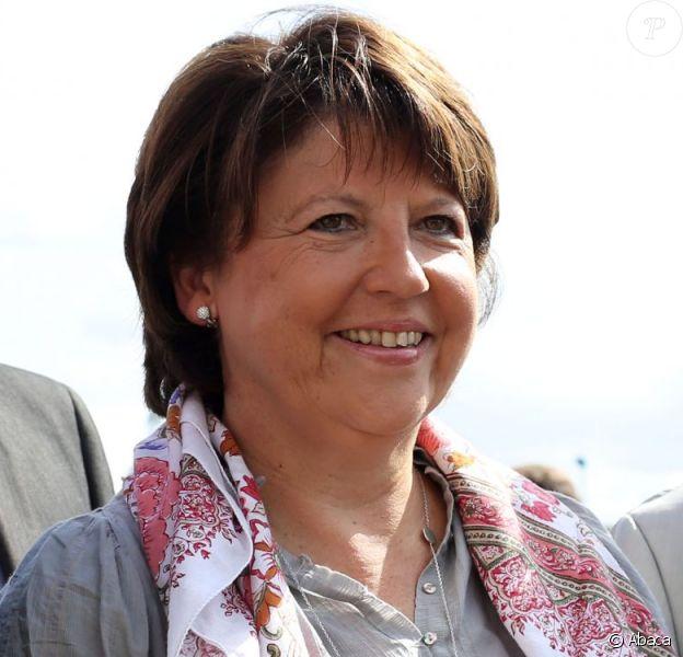 Martine Aubry à La Rochelle, le 24 août 2012.