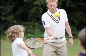 PHOTOS : Boris Becker joue au tennis avec ses fils...