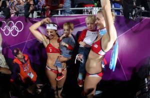 Kerri Walsh Jennings : La beach-volleyeuse médaille d'or était enceinte aux JO !