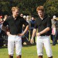 Le Prince Harry et son frère William