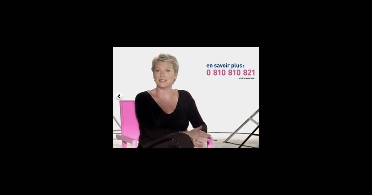 elise lucet pour la campagne de d pistage du cancer du sein octobre rose lanc e le 29. Black Bedroom Furniture Sets. Home Design Ideas