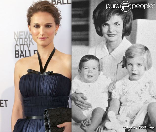 natalie portman en jackie kennedy la rumeur qui enflamme le web purepeople. Black Bedroom Furniture Sets. Home Design Ideas