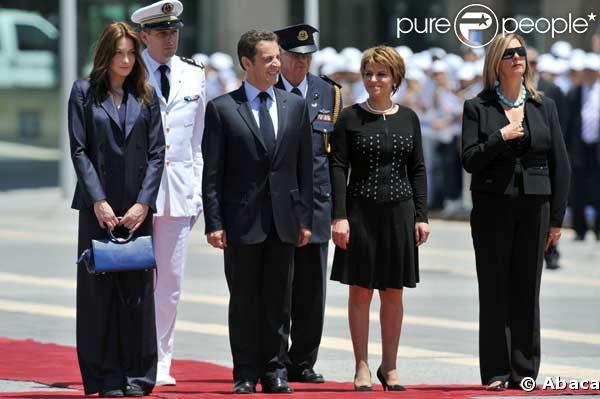 carla bruni sarkozy. Carla Bruni-Sarkozy et Nicolas